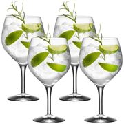 Gin og tonic 4 pk glass 64 cl