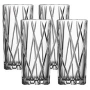 City Highball glass 4 pk 37 cl