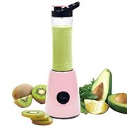 Twist Smoothieblender m/1 flaske 600ml lys rosa