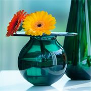 Boblen Green vase liten 120 mm