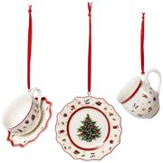 Toys Delight Decoration Juletrepynt servise 3 deler